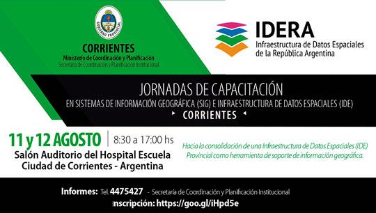 banner Jornadas IDE Corrientes ok